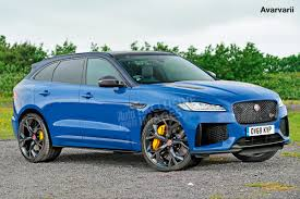 jaguar f pace blacked out new 570bhp jaguar f pace svr shaping up auto express