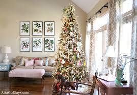 Christmas Livingroom by Christmas House Tour 2012 Our Living Room Christmas Tree