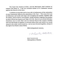 letter to st athanasius community greek orthodox metropolis of
