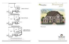 Briarwood Homes Floor Plans The Briarwood New Homes In Huntsville Al Woodland Homes