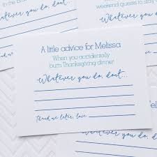marriage advice cards words of wisdom bridal shower games words