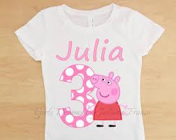 peppa pig shirt etsy