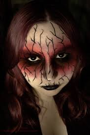 scary halloween figures 40 the most creepy halloween makeup ideas entertainmentmesh