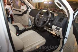mitsubishi suv 2016 interior chevrolet to launch trailblazer in india on october 20th indian