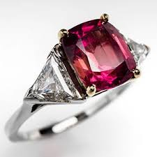 padparadscha sapphire engagement ring a beautiful padparadscha sapphire engagement ring eragem post