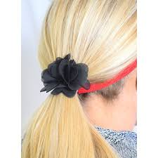 flower bands floral hair ties sweaty bands