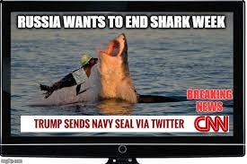 Shark Week Meme - breaking news live coverage shark week imgflip