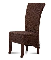 decorating seagrass dining chairs in dark brown for inspiring