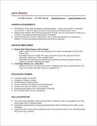 resume format work experience real estate agent or realtor resume sample with list of skills and fullsize by gritte real estate agent or realtor resume sample with list of skills and work experiences