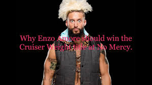 enzo weight why enzo should win the cruiser weight title at no mercy