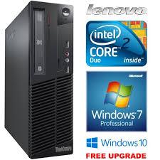 ordinateur bureau windows 7 lenovo windows 7 mini ordinateur de bureau pc 2 duo prix pas