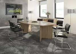 Oak Boardroom Table Arrow Head Leg Radial Boardroom Table 2400x800 1300mm Oak Www
