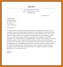 7 real estate cover letter letter of apeal