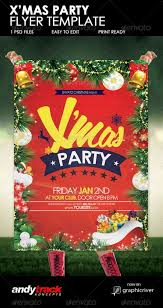 christmas party flyer template christmas party flyer template