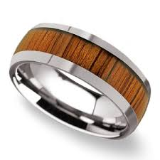 wood wedding rings koa wood rings a collection of men s wood wedding rings