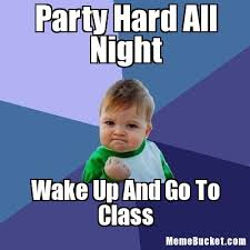 Party Hard Meme - party hard all night create your own meme