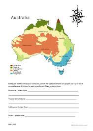 14 free esl climate worksheets