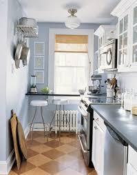 Galley Kitchen With Breakfast Bar 47 Best Galley Kitchen Designs Decoholic Intended For Small