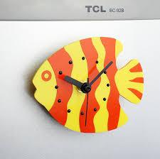 horloges cuisine réfrigérateur aimant horloges cuisine horloge océan poissons