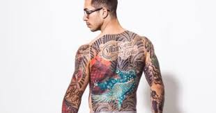 17 guys with killer back tattoos