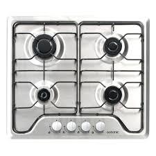 plaque cuisine gaz plaque de cuisine gaz oceanic ctg4ix table de cuisson gaz achat