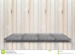 Wooden Table Top View Empty Top View Of Wooden Table On Wood Background For Display