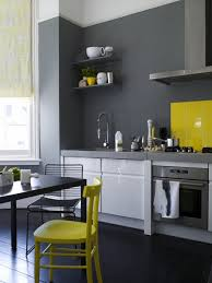 grey white yellow kitchen color under your feet a gallery of painted kitchen floors grey