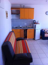 Schlafzimmer Orange Orange Wohnung Vila Stone Pirovac