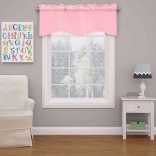 Pink Eclipse Curtains Eclipse Kendall Blackout Wave Bedroom Curtain Valance