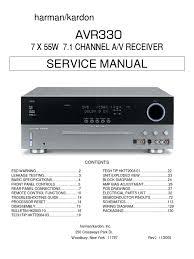 manual de servicio harman kardon video loudspeaker