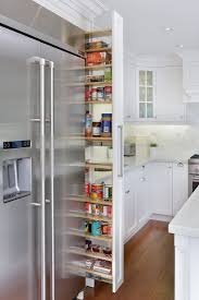Kitchen Cabinets Tall Pantry Cabinet Thin Pantry Cabinet With Tarragona White Floor