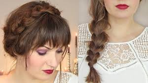 photo prom hairstyles with braids on the side thin hair cute