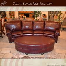 Custom Leather Sofas Fantastic Curved Leather Sofa With Curved Four Section Leather