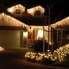 100 warm white outdoor led battery icicle lights with timer