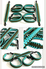 turquoise jeep jeep king cobra paracord grab handle set
