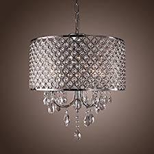 Dining Room Ceiling Lights Mini Style 3 Light Chrome Finish Crystal Chandelier Pendent Light
