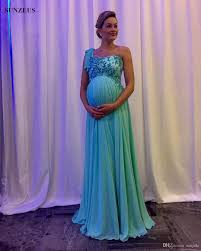 maternity evening dresses maternity party dresses empire one shoulder evening