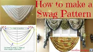 how to make a swag pattern youtube