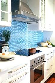 blue tile kitchen backsplash blue subway tile kitchen backsplash luisreguero