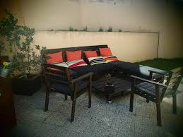 Patio Pallet Furniture Plans by Furniture Patio Furniture Made Out Of Pallets And Transform It