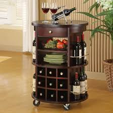 Furniture Wine Bar Cabinet Marvelous Wine Rack Furniture Hallway Design Featuring White End