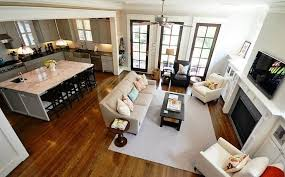 open floor plan living room design trend open concept floor plan woodways