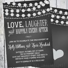 after the wedding party invitations after wedding party invitation chalkboard engagement invitation