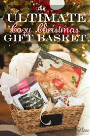 christmas gift baskets the ultimate cozy christmas gift basket honeybear