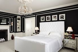 black walls in bedroom vibrant with a view traditional bedroom minneapolis by