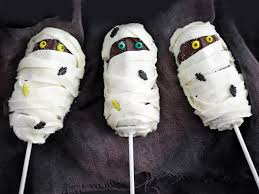How To Make Halloween Cake Pops Easy Mummy Cake Pops Hgtv