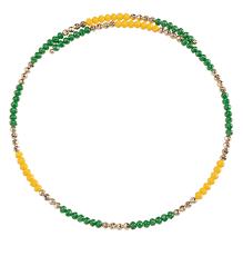 beaded wire choker u2013 fanfare