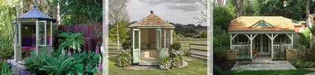 Gardens With Summer Houses - the timber summerhouse range from scotts of thrapston incorporates