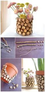 wood log vases 100 diy vases or centerpiece unique ways to diy your vases diy