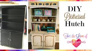 how to distress furniture with chalk paint diy shabby chic youtube
